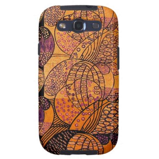 Casamata estilizada Samsung S3 de las margaritas d Galaxy S3 Carcasa