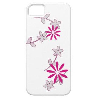 Casamata femenina floral rosada del iPhone 5 de la iPhone 5 Fundas