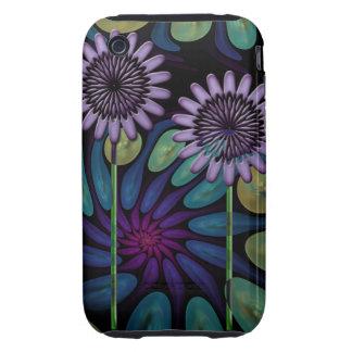 Casamata floral artística Tough™ del iPhone 3G/3GS Carcasa Resistente Para iPhone