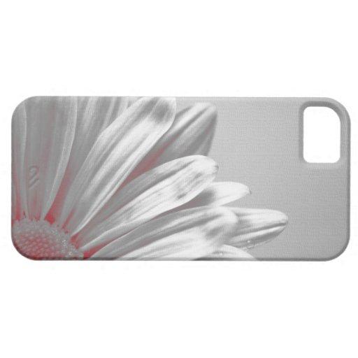 Casamata floral roja del iPhone 5 de los puntos cu iPhone 5 Case-Mate Cárcasa