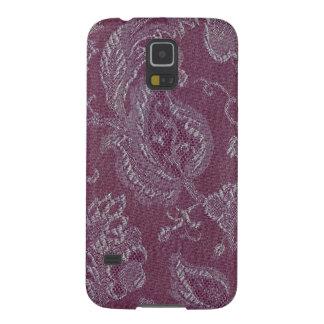 Casamata floral Samsung del colorete del ciruelo Carcasa Galaxy S5