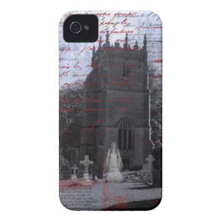 Casamata frecuentada gótico del iPhone del cemente Case-Mate iPhone 4 Carcasas