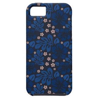 Casamata hawaiana azul de Apple Iphone 5 dura iPhone 5 Case-Mate Cárcasas