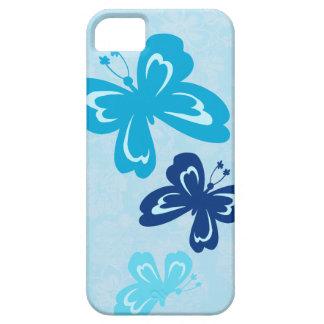 Casamata hawaiana del iPhone 5 de la mariposa de H iPhone 5 Case-Mate Fundas