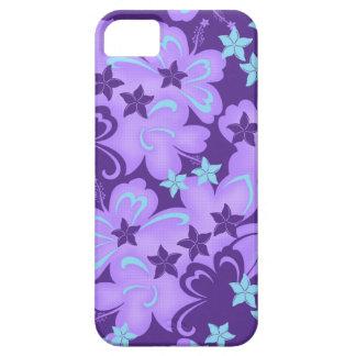 Casamata hawaiana iPhone5 del hibisco de Butterfli iPhone 5 Carcasa