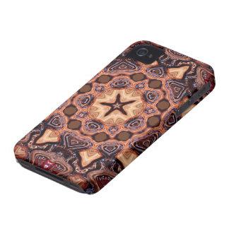 Casamata ID™ del iPhone 4 de la mandala de ChocChi iPhone 4 Case-Mate Cárcasas
