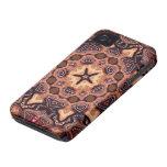 Casamata ID™ del iPhone 4 de la mandala de Case-Mate iPhone 4 Carcasa