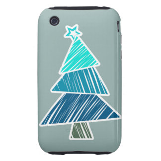 Casamata incompleta del árbol de navidad 3G/3GS de Carcasa Though Para iPhone 3