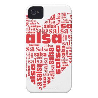 Casamata intrépida Barely There de Blackberry de Case-Mate iPhone 4 Fundas