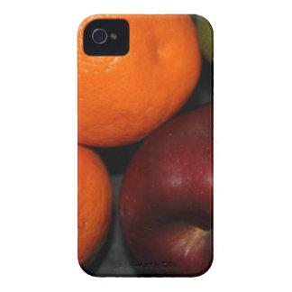 Casamata intrépida Barely There de Blackberry de iPhone 4 Fundas