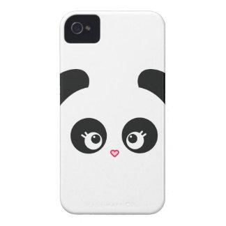 Casamata intrépida Barely There de Panda® Blackber iPhone 4 Cobertura