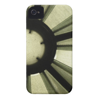 Casamata intrépida de Blackberry de la oscuridad Funda Para iPhone 4 De Case-Mate