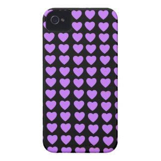 Casamata intrépida de Blackberry de los corazones iPhone 4 Case-Mate Carcasas