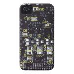 Casamata intrépida de Blackberry del tablero del iPhone 4 Coberturas