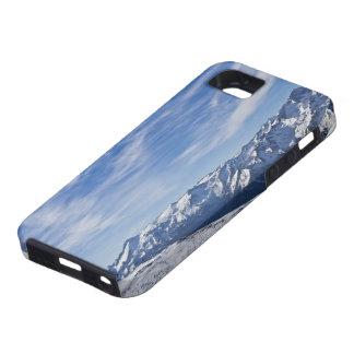 Casamata italiana del paisaje de las montañas iPhone 5 carcasas