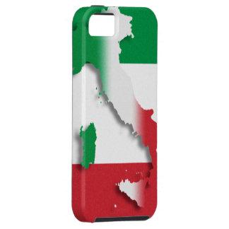 Casamata italiana Tough™ del iPhone 5 de la bander iPhone 5 Cárcasa