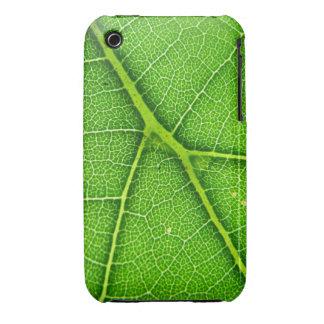 Casamata macra del iPhone 3G/3GS de la hoja verde iPhone 3 Funda
