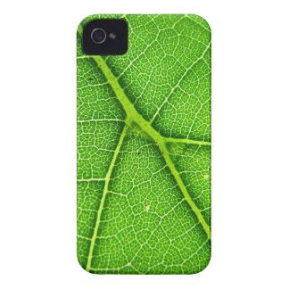 Casamata macra del iPhone 4 de la hoja verde iPhone 4 Case-Mate Carcasa