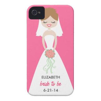Casamata personalizada Barely There del iPhone 4 iPhone 4 Case-Mate Funda