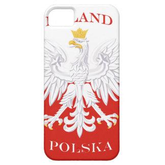 Casamata polaca ID™ del iPhone 5 de la bandera de iPhone 5 Carcasa
