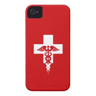 Casamata profesional médica de encargo del iPhone  iPhone 4 Fundas