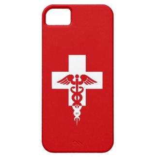 Casamata profesional médica de encargo del iPhone Funda Para iPhone 5 Barely There