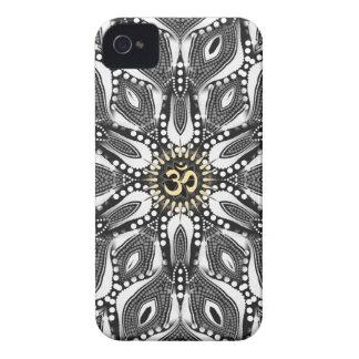 Casamata psicodélica del iPhone 4 de Aum de la ser Case-Mate iPhone 4 Carcasa