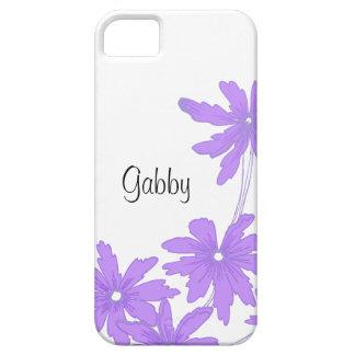 Casamata púrpura brillante de encargo del iPhone 5 Funda Para iPhone 5 Barely There