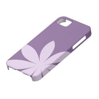 Casamata púrpura del iPhone 5 de la margarita iPhone 5 Carcasa