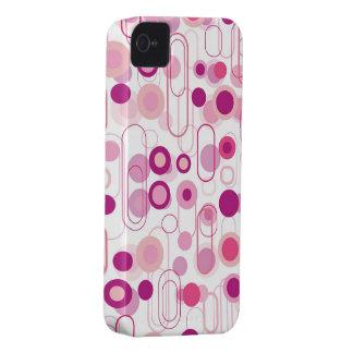 Casamata púrpura retra del iPhone 4 del modelo de iPhone 4 Case-Mate Protector