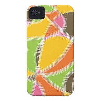 Casamata retra colorida del iPhone 4 del modelo Case-Mate iPhone 4 Protectores
