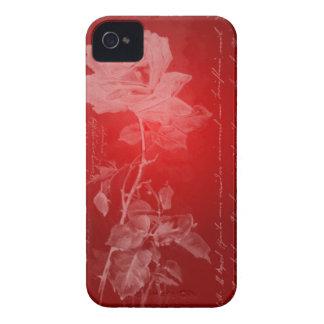 Casamata rica del rosa rojo iPhone 4 Case-Mate fundas