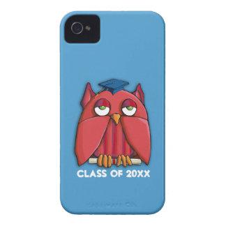 Casamata roja ID™ del iPhone 4/4S de la aguamarina Funda Para iPhone 4 De Case-Mate