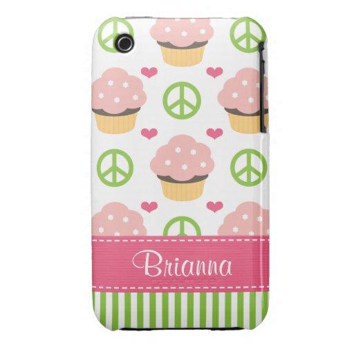 Casamata rosada Barely There del iPhone 3 de la ma iPhone 3 Case-Mate Funda