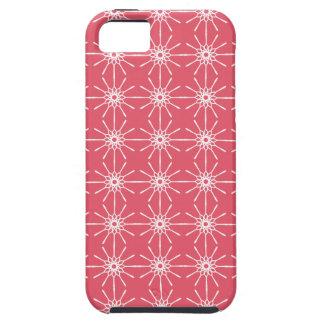 Casamata rosada del iPhone 5 de Starburst de la iPhone 5 Fundas
