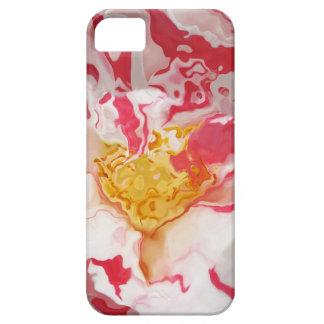 Casamata rosada pintada del extracto de la camelia iPhone 5 carcasas