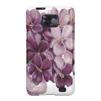 Casamata Samsung del ramo del ramillete de flores Galaxy SII Fundas