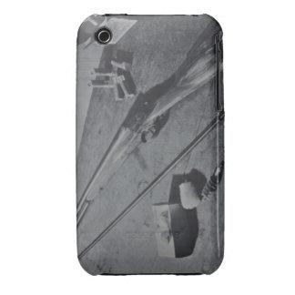 Casamata sin martillo del iPhone 3G/3GS de la Case-Mate iPhone 3 Fundas