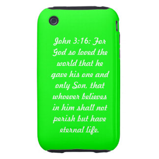 Casamata Tough™ del iPhone 3G/3GS del verde del 3: iPhone 3 Tough Cobertura