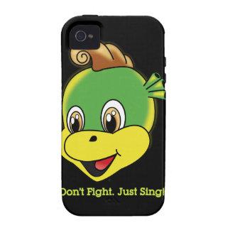 Casamata Tough™ del iPhone 4 de Rockstar™ del drag iPhone 4/4S Fundas