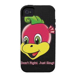 Casamata Tough™ del iPhone 4 de Rockstar™ del drag iPhone 4/4S Carcasa