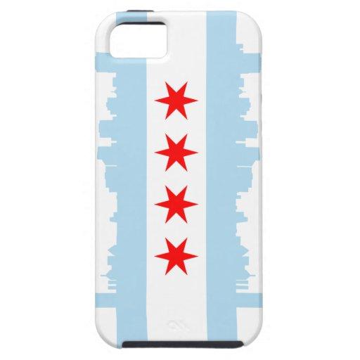 Casamata Tough™ del iPhone 5 de la bandera de Chic iPhone 5 Case-Mate Funda