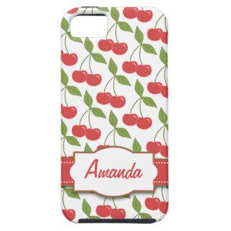 Casamata Tough™ del iPhone 5 de las cerezas dulces iPhone 5 Cárcasa