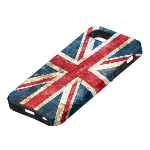 Casamata Tough™ del iPhone 5 de Union Jack iPhone 5 Funda