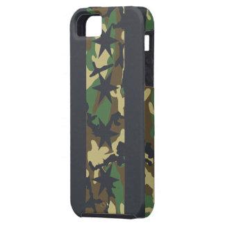 Casamata Tough™ del iPhone 5 del camuflaje de la b iPhone 5 Case-Mate Protectores