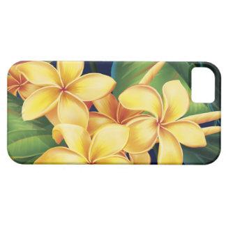 Casamata tropical del iPhone 5 del Plumeria del iPhone 5 Carcasas