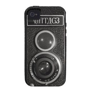 Casamata vieja del iPhone 4 de la cámara de la iPhone 4/4S Fundas
