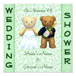 Casando el peluche verde de la ducha los osos anuncios