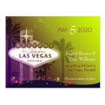 Casando en la reserva de Las Vegas Nevada la posta
