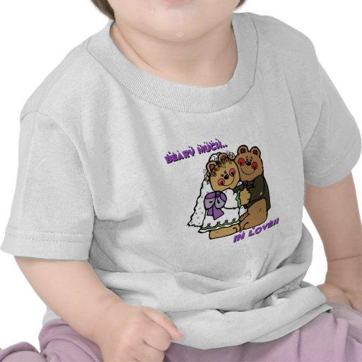 Casando osos, Beary mucho en amor Camisetas